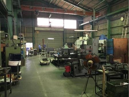 機械部品の加工および組立 大きな技術力を持つ大きくない会社での工場内作業