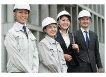 ①建築営業スタッフ ②建築施工管理 ③設計及び事務業務