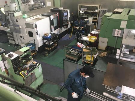 鉄・ステン・アルミの機械加工作業(動画有り)