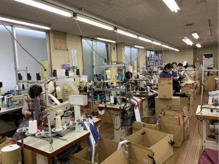 正社員募集!未経験OK!縫製会社での生産管理・軽作業