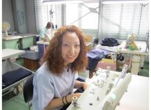 学生服メーカーでのミシン業務(動画有り)