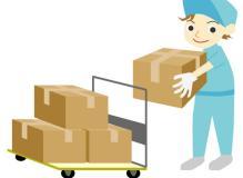 建築資材や土砂の配達ドライバーおよび倉庫内管理