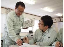 中四国トップシェアを誇る地盤改良専門会社での施工管理
