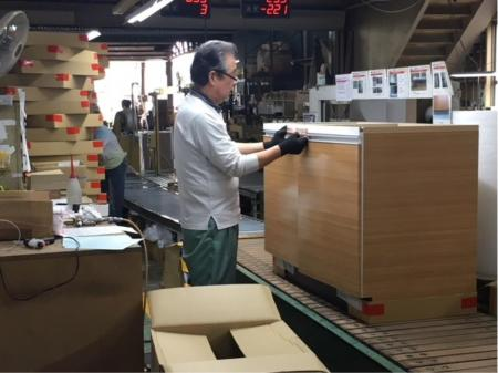 20~40代積極採用中!木製家具の組立・加工作業