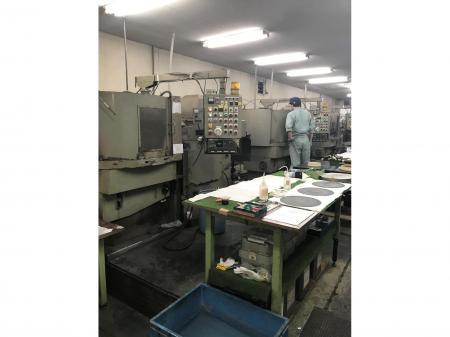 工作機械での部品製作