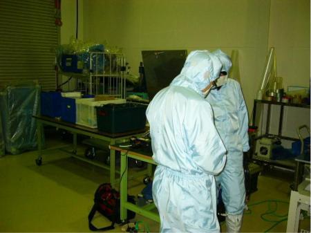 半導体・液晶製造装置等の機械組立作業