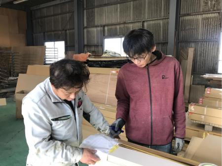 定着率◎製造業デビュー歓迎!工場内作業スタッフ(木材の加工・検査・出荷)