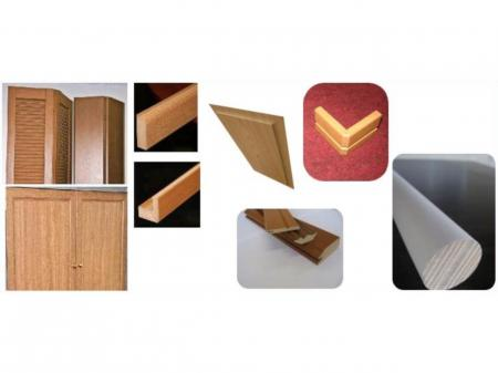 ラッピング加工のパイオニア!歴史ある安定企業で働く、木製造作材の製造スタッフ(年間休日115日)