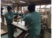 未経験者大歓迎♪年間休日120日の木製家具の組立・加工作業