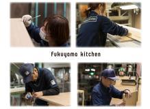 木製キッチン製造の工場内作業