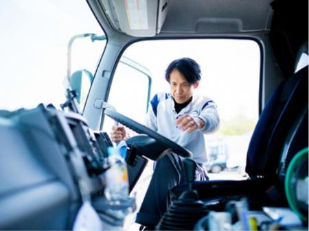 短距離固定ルートで毎日家に帰れるトラックドライバー