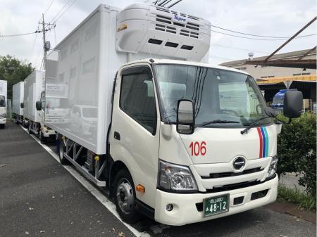 岡山営業所開設メンバーでの新車3t固定ルートドライバー