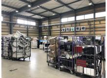 家電リサイクル工場でのカンタン部品選別作業