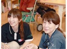資格や経験が活かせる介護ケアスタッフ