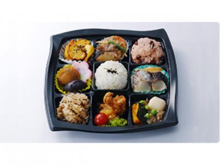 さんすて福山店内でのお惣菜とお弁当の販売