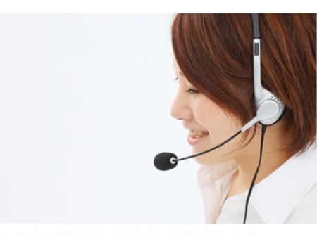 コールセンターでの電話受付及び、入力業務