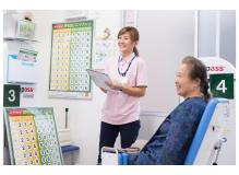 看護師の作業風景
