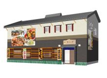 倉敷市沖のお弁当店での調理、販売