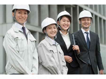 スタッフさんの働きやすさを重要視!建築または土木施工管理業務