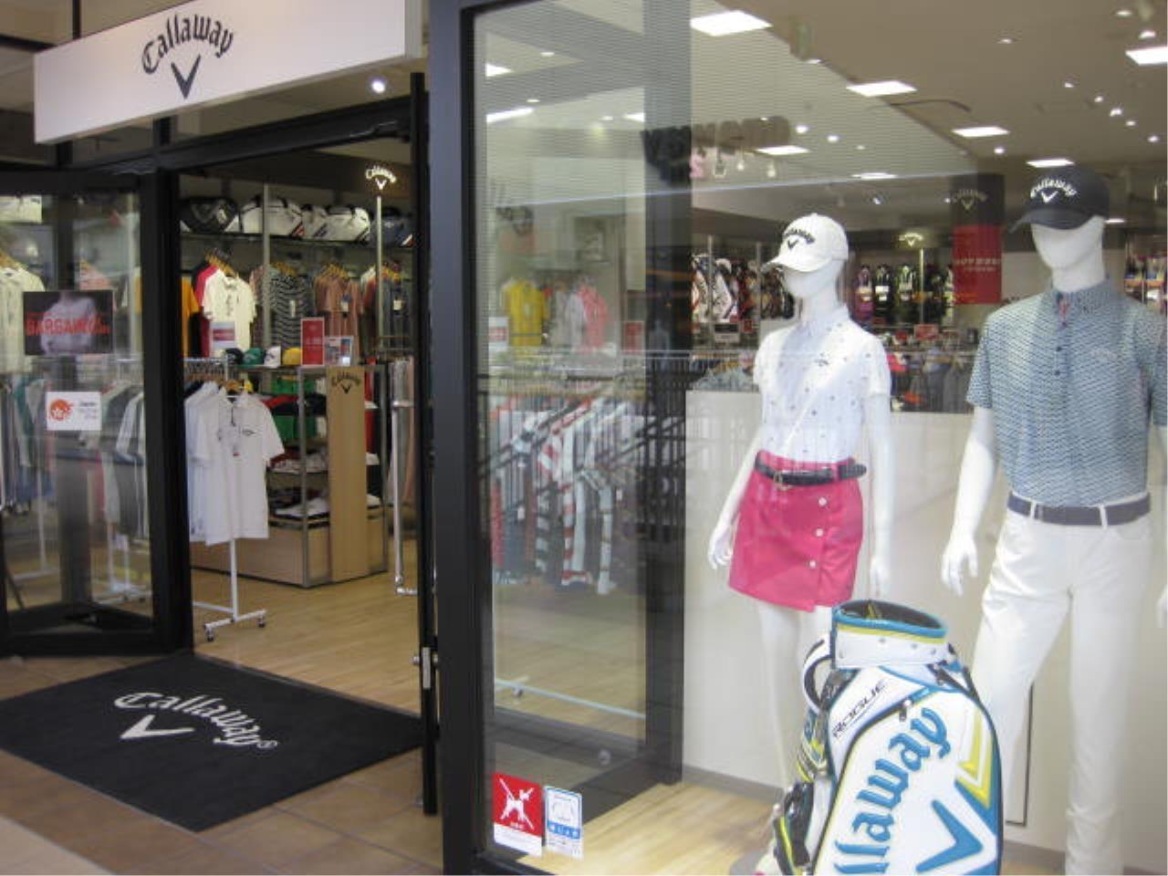 ゴルフ好きにはたまらない◎キャロウェイアウトレットショップでの接客・販売