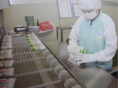 日勤専属♪食品の製造補助・包装・梱包