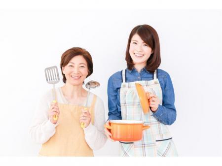 完全土日祝休みで扶養内勤務も可能な社員寮での短時間調理スタッフ
