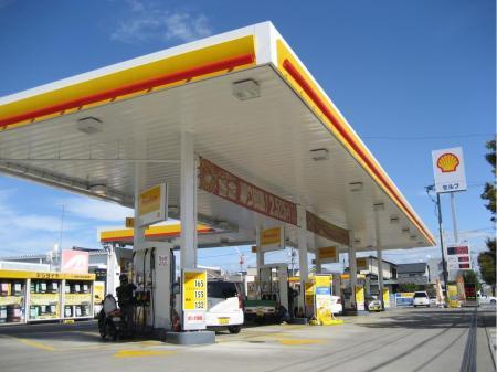 ガソリンスタンドのサービス業務