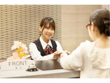 岡山有名ホテルでのフロント業務