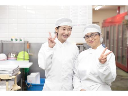 岡山市北区庭瀬の公立中学校での給食調理