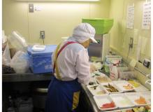 食品の作業風景