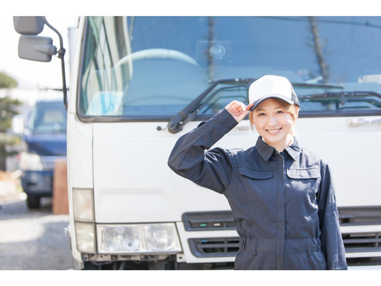 4tトラック乗務員ですよ♪