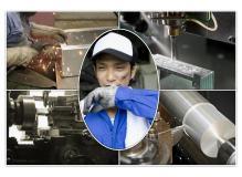 昼食付の工場内コツコツ作業で鉄・ステンレス・アルミ部品の製造業務
