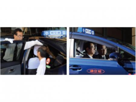 未経験でも安心してスタートできるタクシードライバー