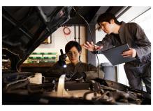 両備グループ企業での自動車整備士