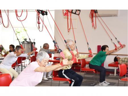 フィットネス感覚の介護リハビリ施設での理学療法士(PT)