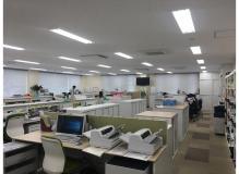 岡山市北区富吉の作業風景