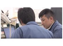 自動車部品工場での電装工事及び制御プログラム作成