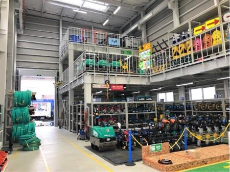 大手企業でのレンタル機材や建設機械の整備スタッフ