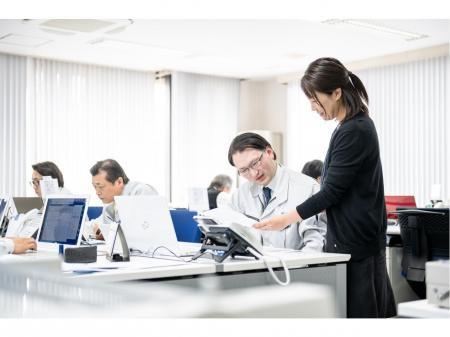 地域産業を支える総合商社での一般事務